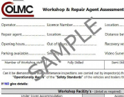 Repair Agent / Workshop Assessment